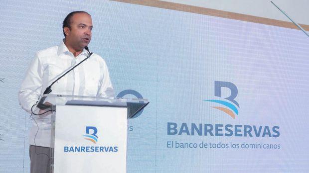 El administrador general de Banreservas, Samuel Pereyra, anunció el lanzamiento del tradicional programa de Pignoración de Arroz, 2021-2022.