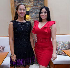 Gisele Ramírez y Linger Oliveros.