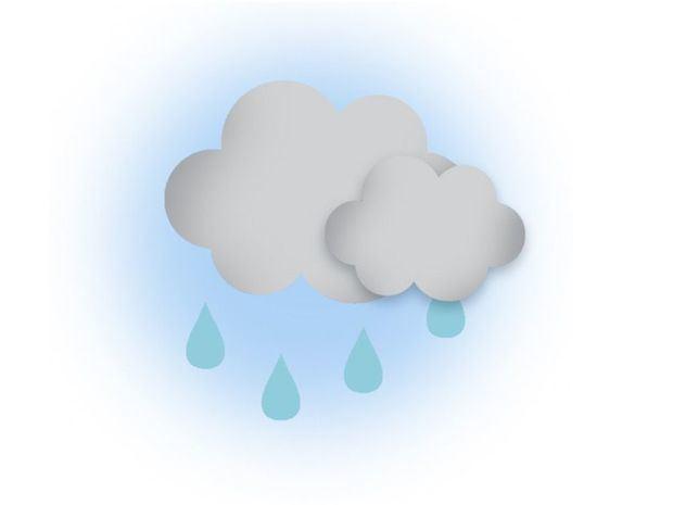 Disminución de las lluvias en varias regiones del país