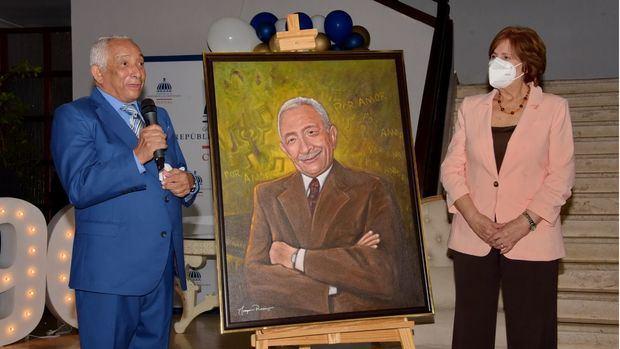 Rafael Solano y Carmen Heredia de Guerrero.
