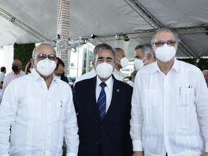 Plutarco Arias, Víctor García Sued y Benjamín Hernández.
