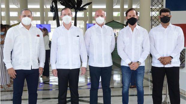 Matías Colombo, Antonio Teijeiro, Jesús Durán, Hugo Perez y Tomás Vargas.