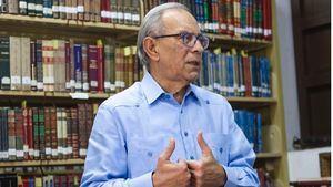 Dennis Simó, presidente de la Sociedad Dominicana de Bibliófilos.