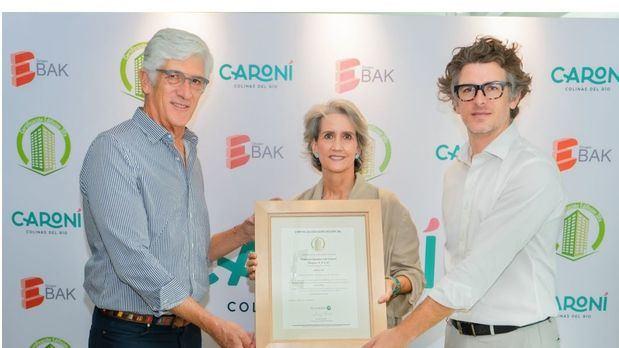 Residencial Caroní, primer proyecto sostenible en planos en certificarse como edificación 3Rs en RD