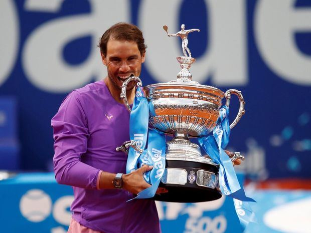 Rafael Nadal recupera el número 2 mundial tras ganar su duodécimo Godó