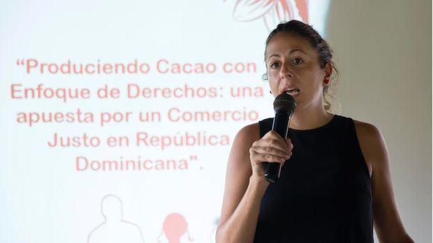 Alba Rodriguez Directora Save de Children RD.