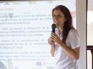 Marian Cortés, gerente de Calidad Programatica SCRD.