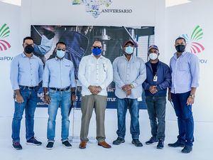 Leonard Ramirez, Edwin Zapata, J. Felipe Meregildo, Roger Javier, Fremio de la Rosa  y Luca Rojas.