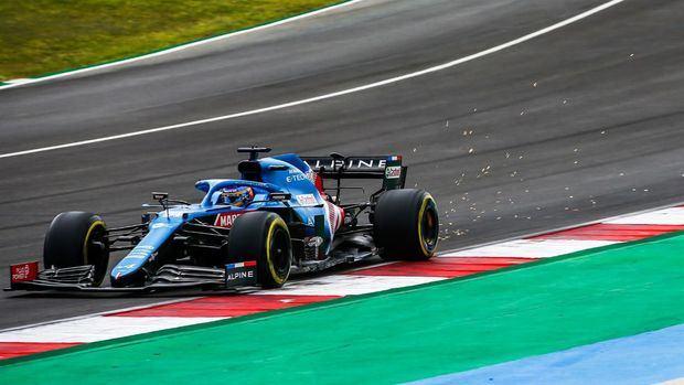 Fernando Alonso : 'El coche era más difícil en la crono que en la FP3'.