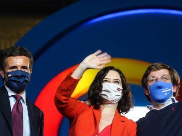 El conservador PP obtiene una amplia victoria en Madrid, según encuestas