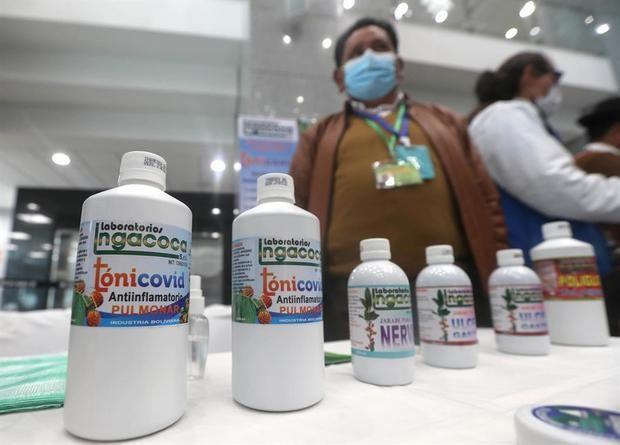 El Gobierno de Bolivia alienta la medicina tradicional contra la Covid-19