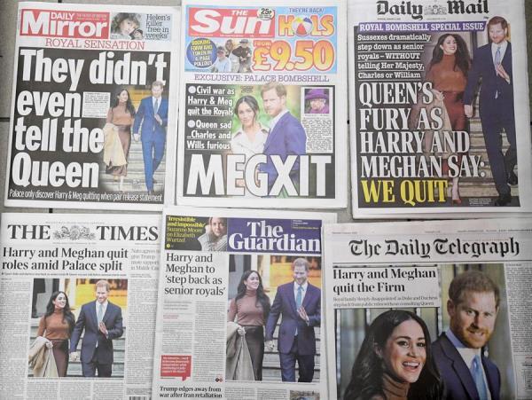 """El principe Enrique se separó de la Casa Real para huir de la prensa """"tóxica"""""""