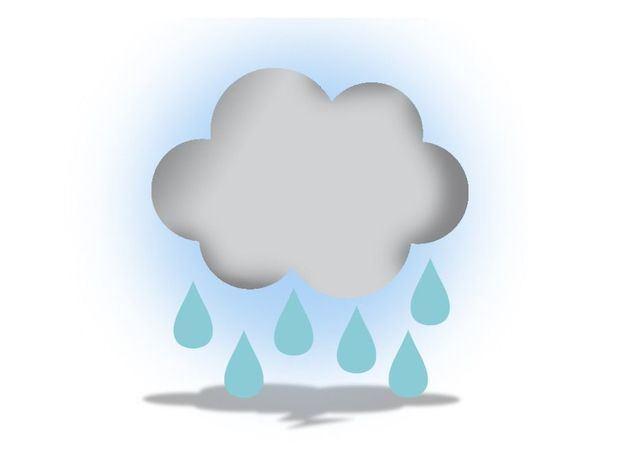 Lluvias durante el día de hoy sobre diferentes localidades del país