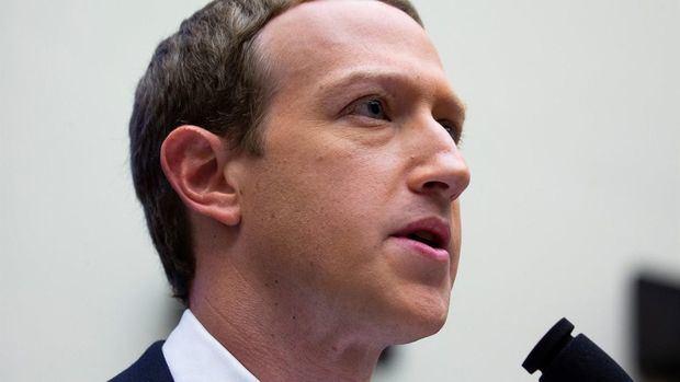 En la imagen, el CEO de Facebook, Mark Zuckerberg.