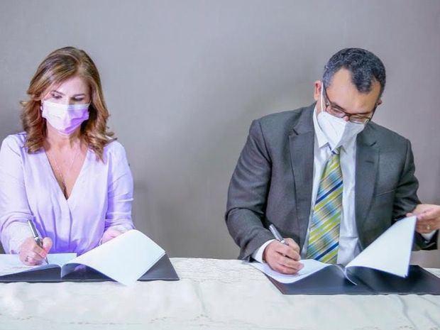 JCE y NUVI firman convenio para impulsar sostenibilidad y cultura de reciclaje.