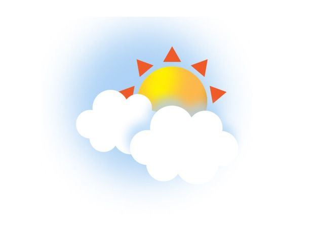 Temperaturas calurosas. Aguaceros hacia el interior del país por efecto de vaguada