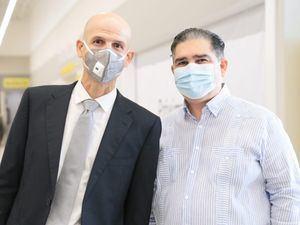 Román Ramos Fernandez y Miguel Zaglul.