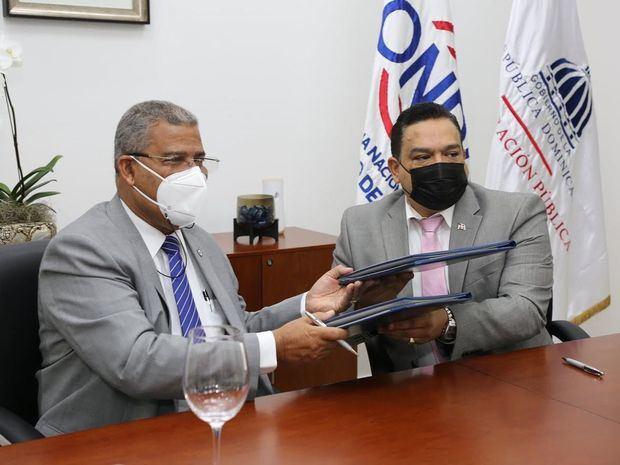 El MAP y ONDA firman convenio busca fortalecer y mejorar servicios a la ciudadanía