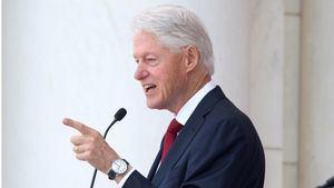 En la imagen el expresidente de Estados Unidos Bill Clinton.