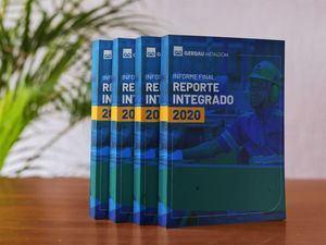Primer Reporte Integrado, correspondiente al año 2020.