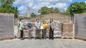 """""""Sanar una Nación"""" dona 50 millones en alimentos y medicamentos a CONAPE."""