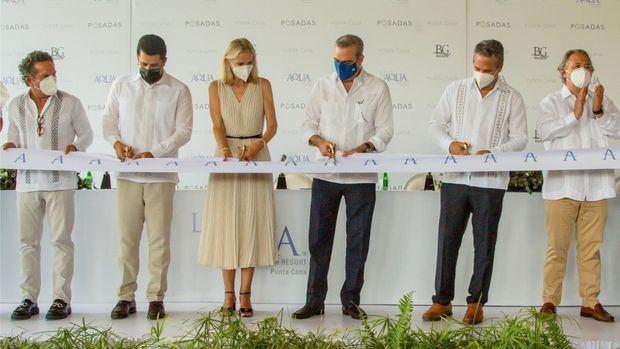 Luis Abinader inaugura Live Aqua Beach Resort Punta Cana, primer hotel de Grupo Posadas en RD