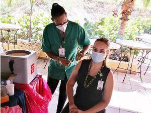 Banreservas ha puesto más de siete mil dosis de vacunas contra el Covid-19 a sus colaboradores y dependientes.