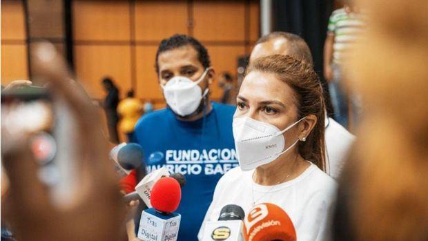 Carolina Mejía, calificó de exitosa la jornada de vacunación comunitaria en el Distrito Nacional.