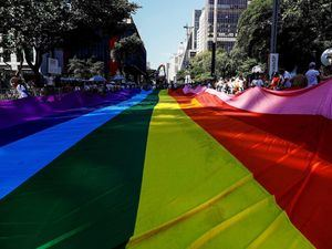En lugar de la fiesta que en años anteriores llegó a congregar a cerca de tres millones en las calles de Sao Paulo, el orgullo LGBT+ se volvió a expresar en 2021 en un acto virtual.