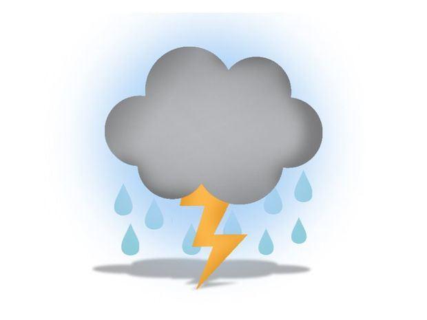 Aguaceros, tormentas eléctricas y ráfagas de viento sobre varias regiones del país