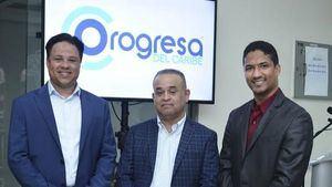 Ezequiel Gil, Uribi Quezada y Mario Gil.