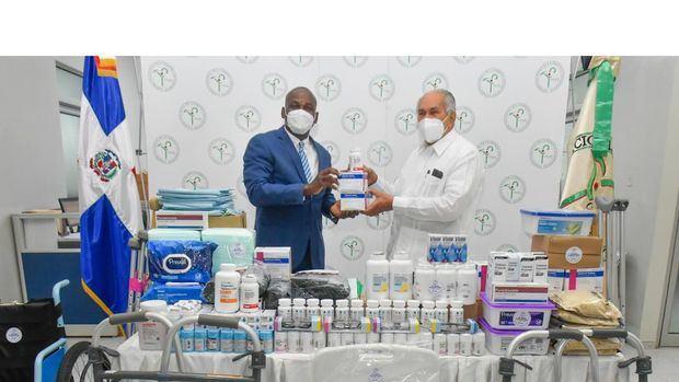 CONAPE recibe de sillas de ruedas, alimentos, medicinas y otros insumos