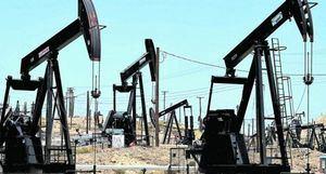 Pozos de petróleo.