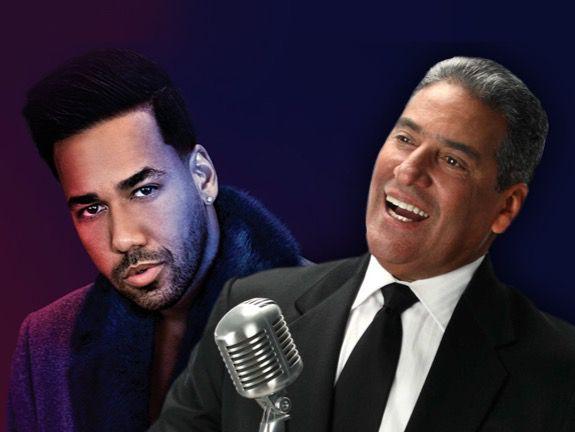 Romeo Santos y Niní Cáffaro Premios Soberano 2020 y 2019