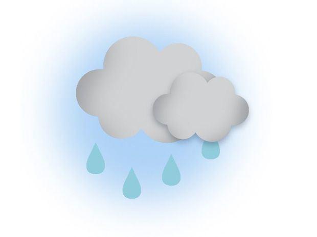 Onda tropical se aleja de nuestra área reduciendo las lluvias sobre el país