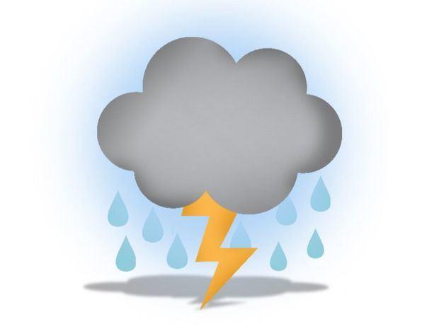 Aguaceros y tormentas eléctricas en varias regiones por vaguada y onda tropical