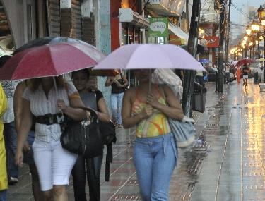 Onamet pronostica pocas lluvias para este miércoles