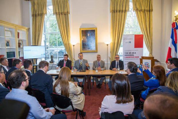 Presentan a empresarios británicos y dominicanos las ventajas comerciales en el marco de la VI semana dominicana en Reino Unido.