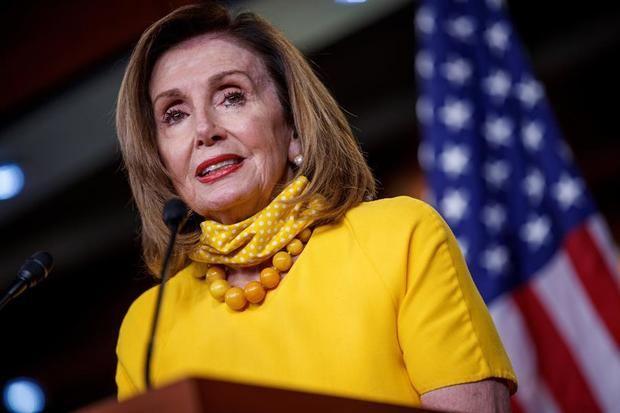 Presidenta de la Cámara de Represtantes de Estados Unidos, la demócrata Nancy Pelosi.