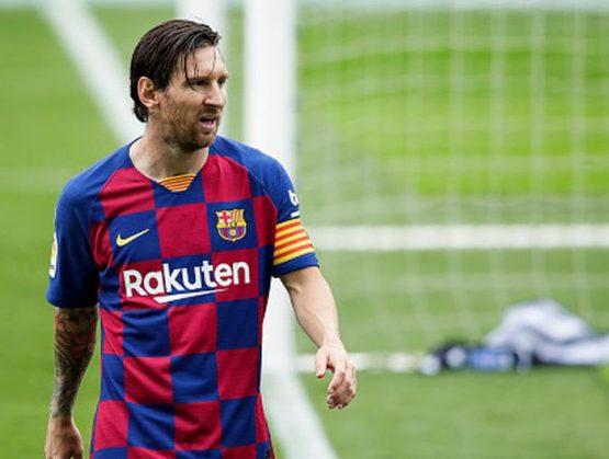 Jugador del Fútbol Club Barcelona, Lionel Messi.