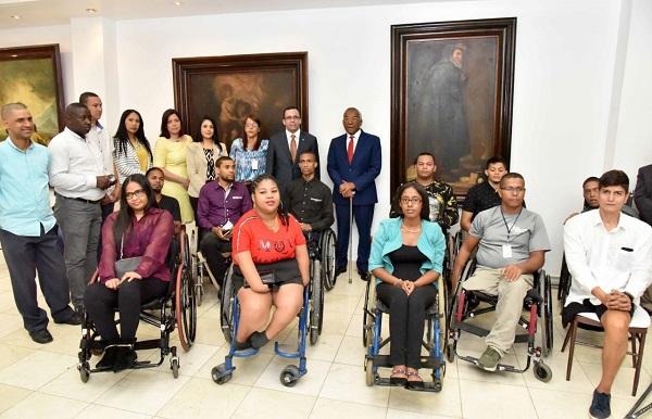 Andrés Navarro nombra a personas con discapacidad aliado al Conadis