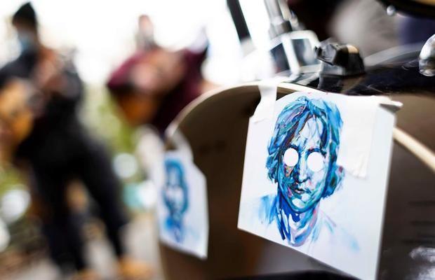 Nueva York honra a Lennon tras 40 años de su muerte: