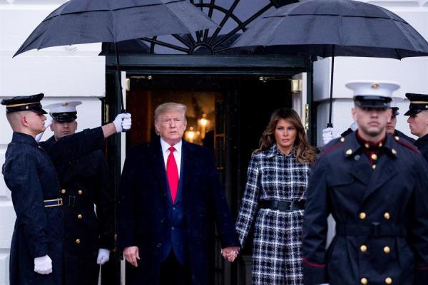 """Trump dice que """"todo está bien"""" tras el ataque iraní y hará una declaración este miércoles"""