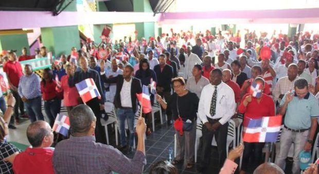 PRSC juramenta 600 coordinadores en las provincias Elías Piña y San Juan