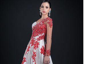La concursante al Miss Mundo Latino PreTeenRD_Alpha Nicole Cruz Álvarez