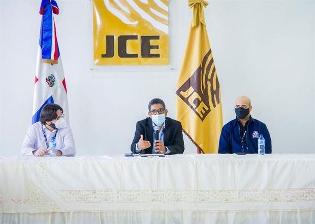 Reunión JCE .