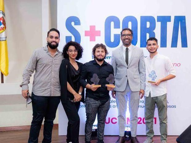 """Forte recibió el premio Egeda Dominicana al mejor cortometraje del festival """"Semana más Corta 2021"""""""
