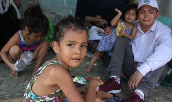 Niños viviendo en las calles de RD