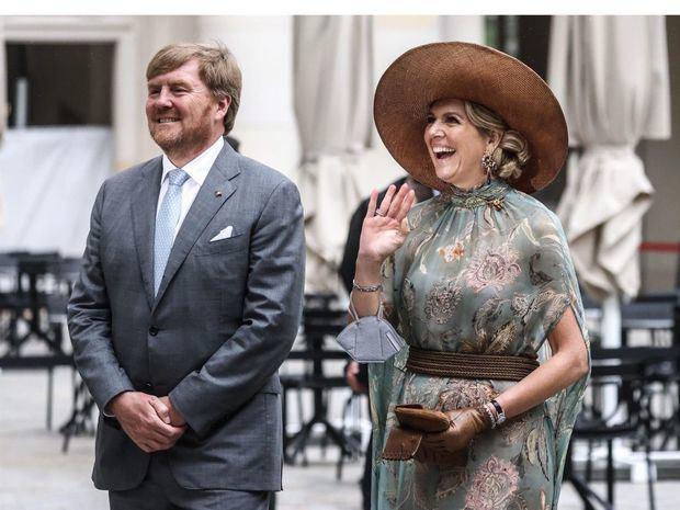 Guillermo Alejandro y Máxima de Holanda, de visita de Estado en Alemania