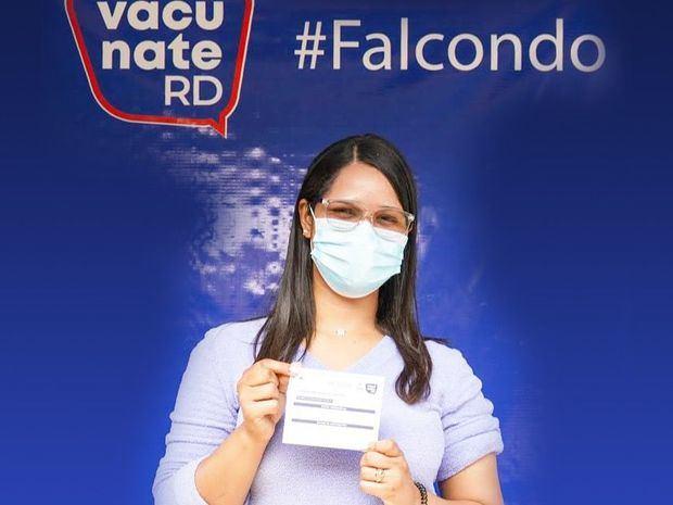 Falcondo apoya jornadas de vacunación.